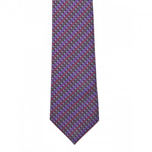 The Tie Hub Multicoloured Checked Tie