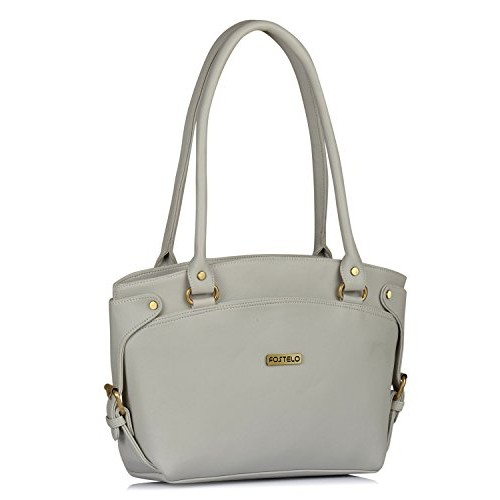 ab2ac72cfa3 Buy Fostelo White PU Solid Handbag online | Looksgud.in