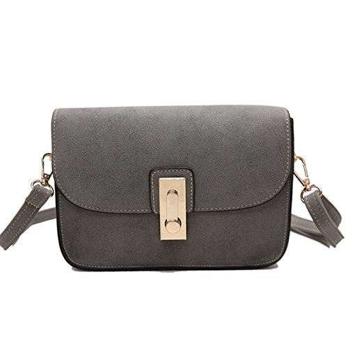 Mei&ge PU Leather Stylish Sling Bag/Purse for Women & Girls Color - Grey (1628)