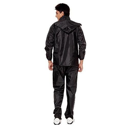 XL Men Raincoat Wind Cheater for Walk & Drive Freely in Rainy Season Jacket & Pent