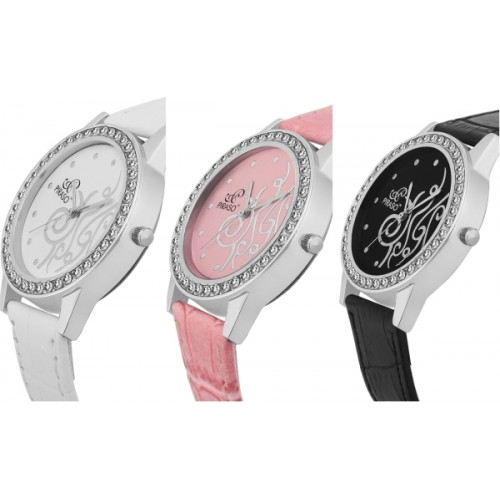 piraso Fashionable watches FS-13 set of 3 combo watch Watch  - For Women