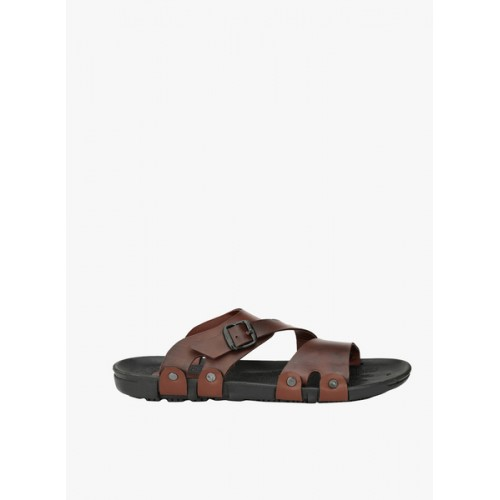 Fentacia Men Brown Slippers