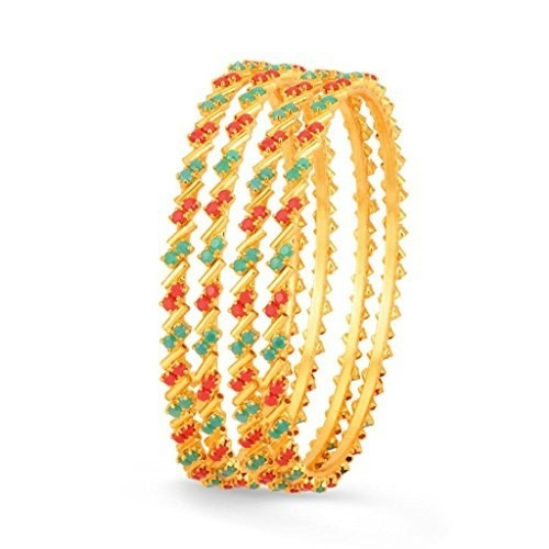 Sukkhi Gold Plated Bangles For Women