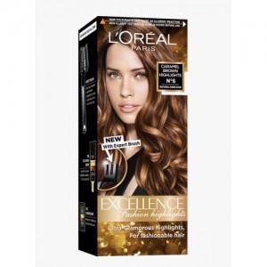 L'Oreal Paris Caramel Brown Excellence Fashion Highlights Hair Color