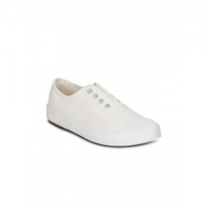 GET GLAMR Women's Canvas Sneakers, LT-BE-6515A-White-2-P