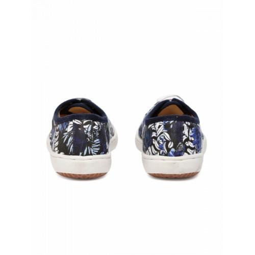 Carlton London Multicoloured Floral Casual Sneakers