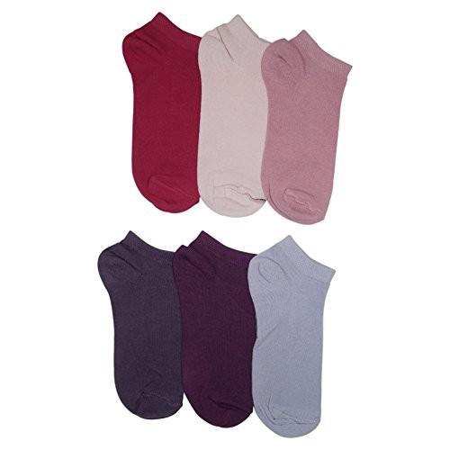 Footmate Women Ankle Socks (6 Pair Pack)