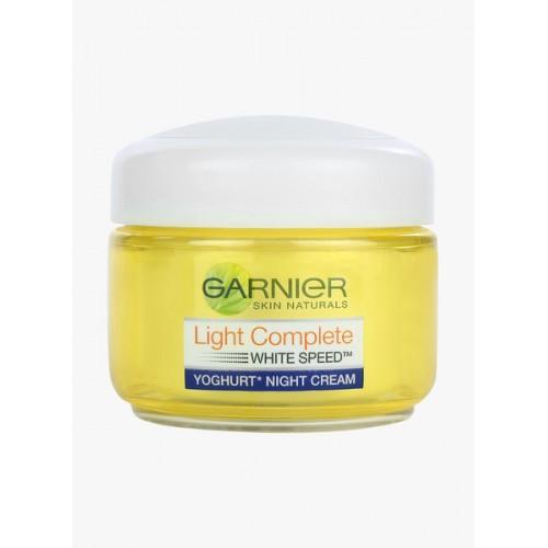 ... Garnier Light Complete White Speed Fairness Serum Cream, 40g ...
