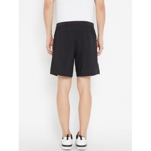 Adidas Men Black D2M Woven Sports Shorts