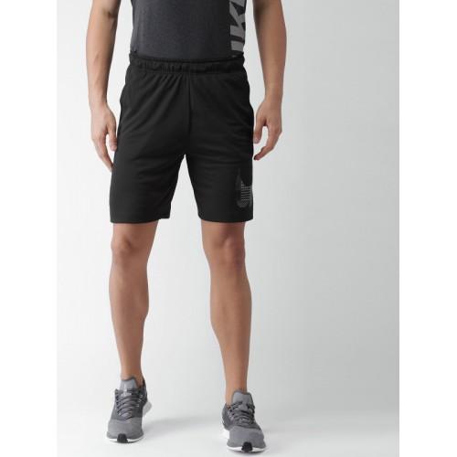 76cb1c0f454 Buy Nike Men Black DRI-FIT Training Shorts online   Looksgud.in