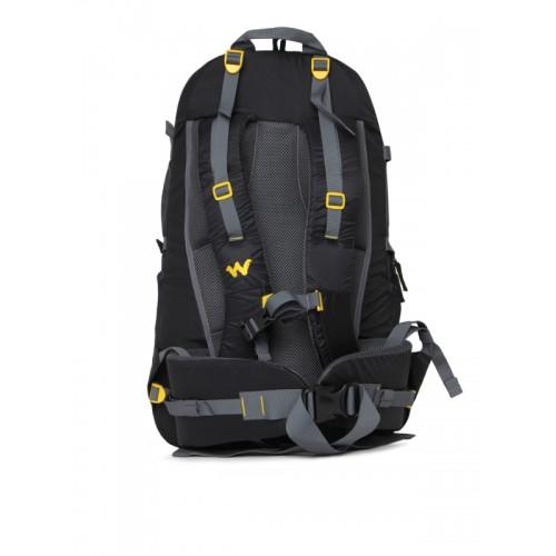 Wildcraft Unisex Black Eiger 45 Backpack