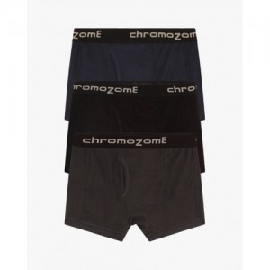 CHROMOZOME Pack of 3 Pure Cotton Trunks