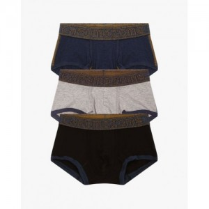 CHROMOZOME Pack of 3 Low-Rise Boxers