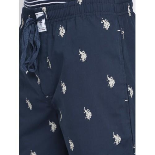 U.S. Polo Assn. Navy Printed Lounge Pants I506-195-RR