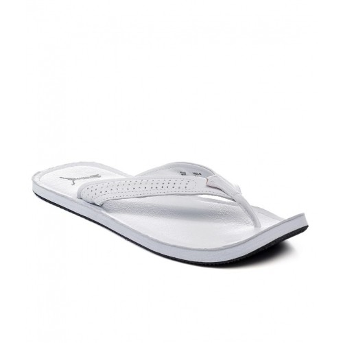 Buy Puma White Java III Ind Slippers online  e6ad65239