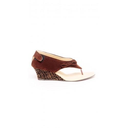d51755ad5f3 Buy Ten Brown Dutch Heel Sandals online