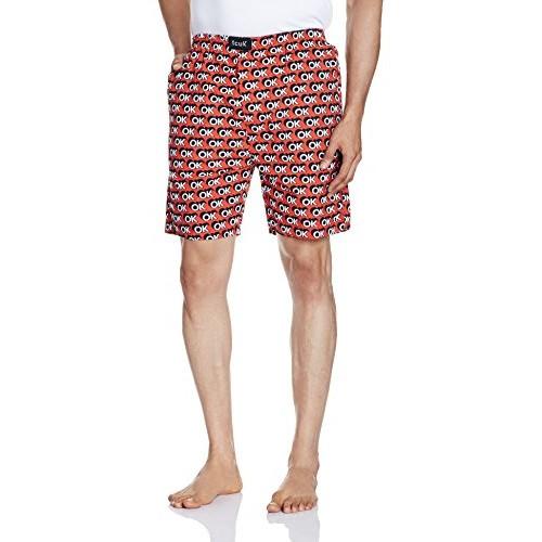 FCUK Men's Cotton Lounge Shorts