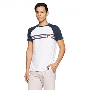Fila Men's Plain Slim Fit T-Shirt