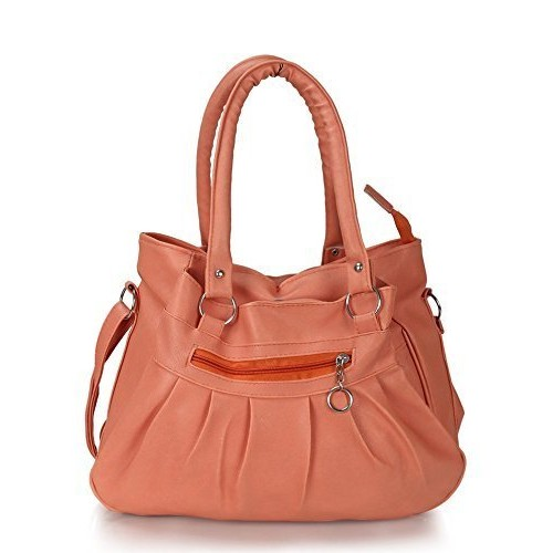 TIP TOP WOMEN HANDBAGS IN VERY BEAUTIFUL PITCH COLOR