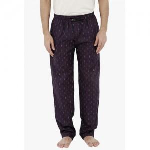 London Bee London Bee Purple Printed Pyjamas
