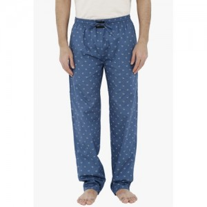London Bee London Bee Blue Printed Pyjamas