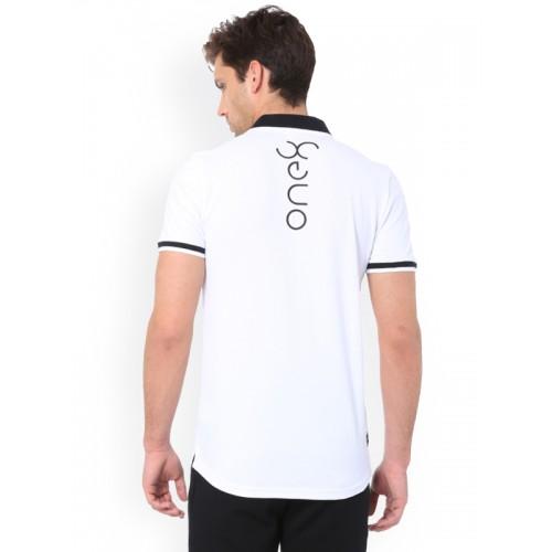 Puma Vk One8 White Polo T-Shirt