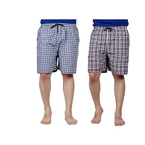 FDs Exports Boxer Men's Sports Cotton Multi Colors Combo Shorts boxer Pake of 2