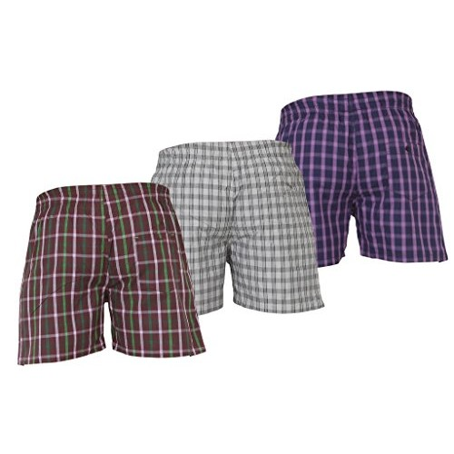 Careus Men's Cotton Boxers (Pack of 3)