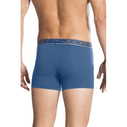Jockey Jockey Steel Blue Regular Fit Trunks - HG02