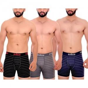 4c11f1d7af51 Zotic Multicolor Trunk men underwear combo,cotton,innerwear,pack of 4  (LBR_GR_NA