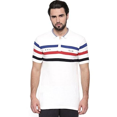 Proline Mens White Polo.