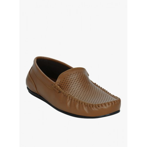 Get Glamr Tan Loafers
