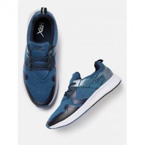 e21bcb0033a HRX by Hrithik Roshan Men Blue Running Shoes