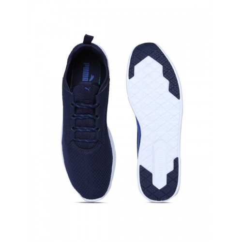 56fa57f2bcbe Buy Puma St Trainer Evo V2 Navy Blue Running Shoes online