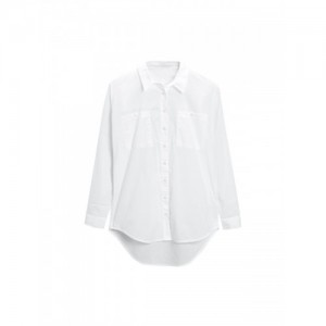 next Women White Comfort Regular Fit Solid Casual Shirt
