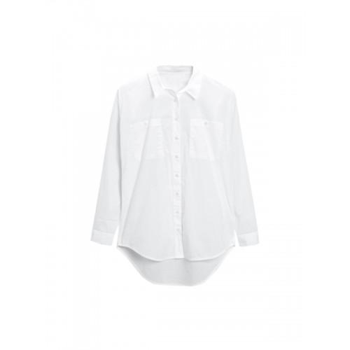 next Women White Comfort Regular Fit Solid Casual Shirt