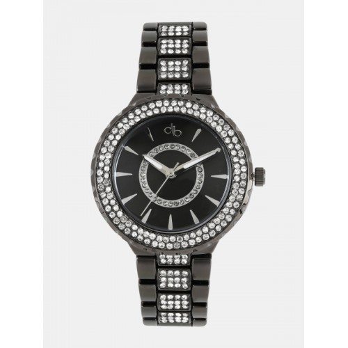 DressBerry Women Black Analogue Watch DB-A2