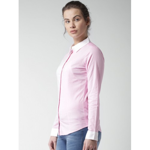 Mast & Harbour Pink Shirt