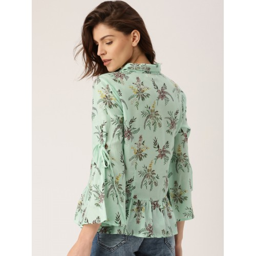 all about you all about you from Deepika Padukone Women Green Printed Top
