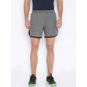 Proline Active Charcoal Grey Melange Running Shorts