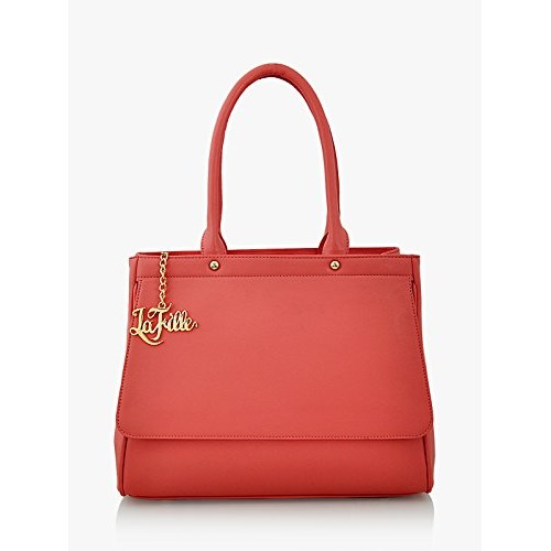LaFille Peach Stylish Hand-held Bags