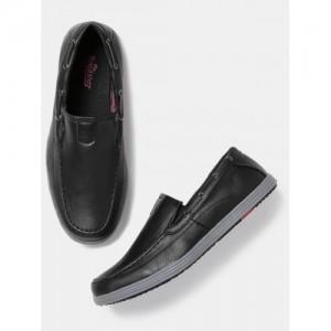 Roadster Men Black Loafers