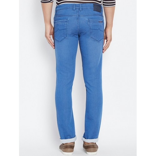 AMERICAN ARCHER blue denim plain jeans