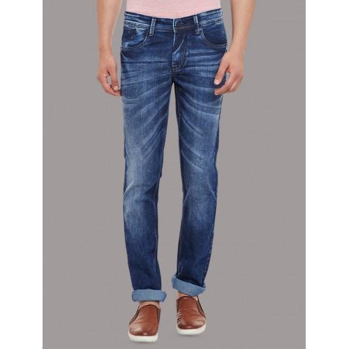 AMERICAN ARCHER blue denim washed jeans