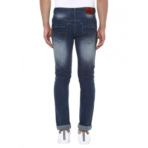BUKKL blue denim washed jeans