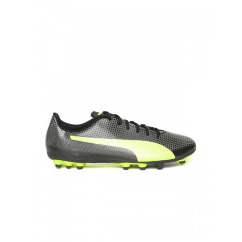 6fbc2e56bf02 Buy Puma Men Black Spirit Artificial Grass Football Shoes online ...