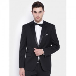 SUITLTD Black Single-Breasted Party Blazer