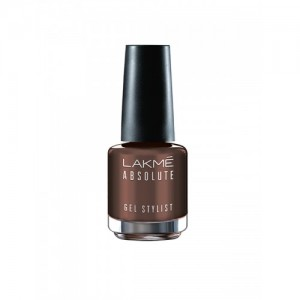 Lakme Absolute Gel Stylist Nail Color Deep Taupe