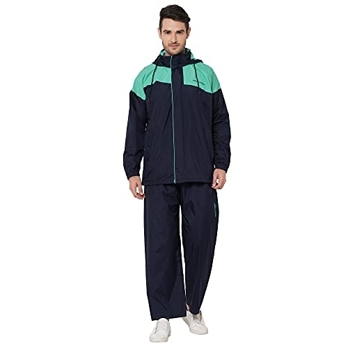 Zeel Water Fighter Raincoat (Jacket Pant Set For Men) XXL/XL/3XL