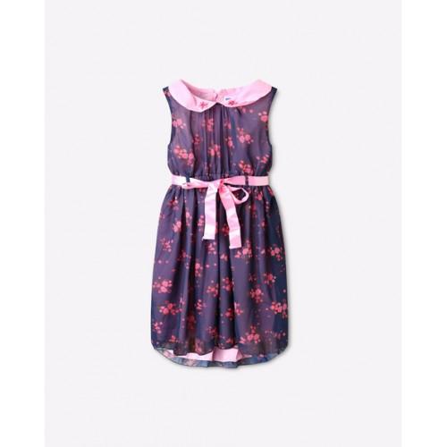 2a8748d54df Buy 612 League Floral Print Dress with Peter Pan Collar online ...